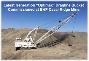 Latest Generation Optimax Dragline Bucket